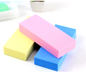Non-abrasive Scrubber Heavy DutyBlock Eraser White Squeeze Pool Scrub Kitchen Pva Chamois Magic Sponge