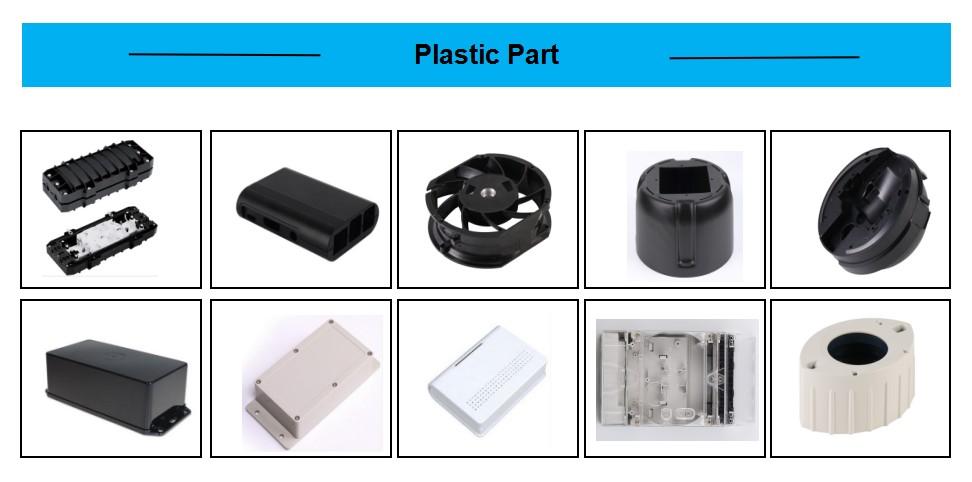 कस्टम प्लास्टिक इंजेक्शन मोल्डिंग ABS भाग, कस्टम प्लास्टिक इंजेक्शन ढाला हिस्सा
