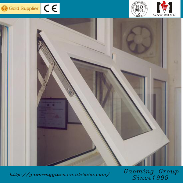 China supplier aluminum profile insulated glass awning house window vents