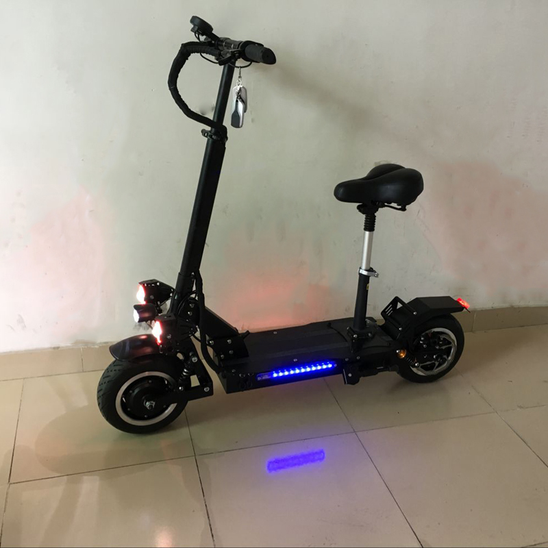 60V 3200W 85km/h powerful Foldable SUV Electric Bicycle scooter for adult