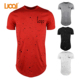 China Manufacturers O-neck Black Spot White T Shirts Wholesale Fashion All Over Print T shirt Men