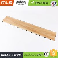 Water Proof Multi Click System Pvc Wood Pattern Vinyl Sheet Flooring