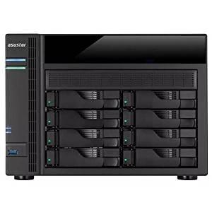 ASUSTOR AS5008T Intel Celeron 2.41GHz/ 1GB DDR3L/ 4GbE/ 2eSATA/ USB3.0/ 8-bay Desktop NAS