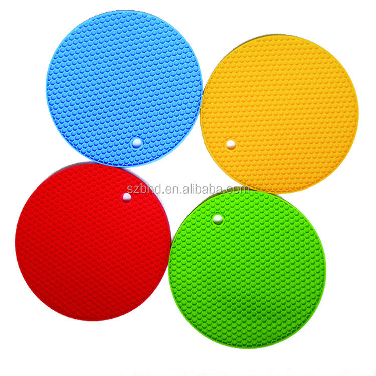 Silicone Pot Holders Heat Resistant Kitchen Table Mat Dinner Mat