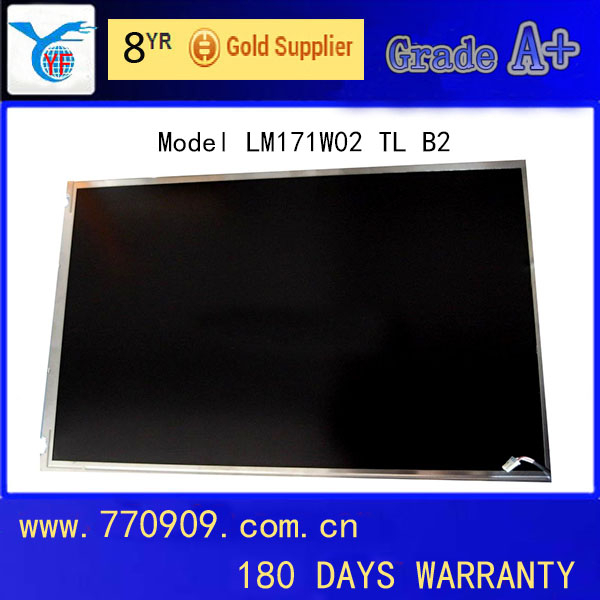 "Grade A+ 17.1"" Laptop LCD Panel LM171W02 TL B2 For Apple iMac G5"