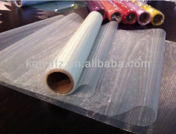 Organza draping fabric roll 40cm x 9m Oasis Cream