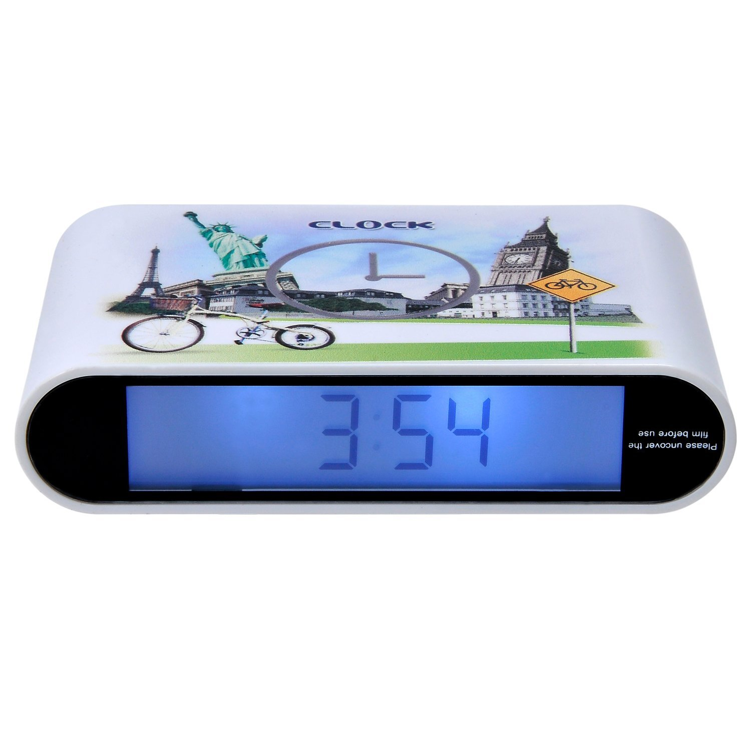 Cheap Alarm Circuit Design Find Deals On Line Radio Frequency Wiley Series In Microwave And Optical Get Quotations Kingstar Flip Clockled Morning Clock With Digital Display Modern For Home