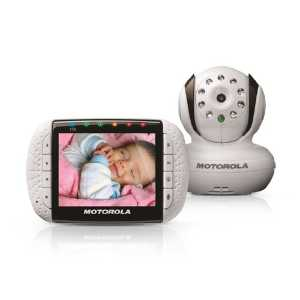 Motorola MBP36S Remote Wireless Video Baby Monitor with 3.5-Inch Color LCD...