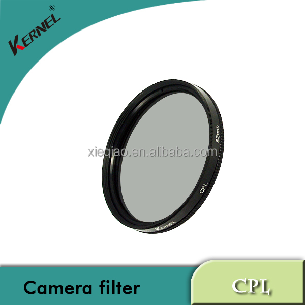 wholesale Kernel 49mm camera Circular Polarizing CPL Filter glass filter