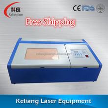 Keliang small laser engraving machine,stamp laser engraving machine,wood laser engraving machine
