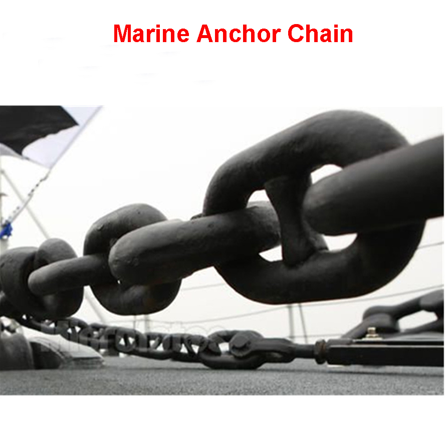 12.5mm-50mm Marine Anchor chain/Mooring Chains/Studless Link Chains