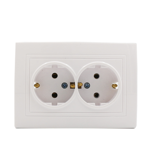Fire proof electric extension sockets 16a eu type wenzhou switch