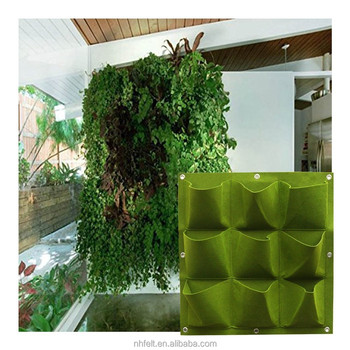 100% Recycled Material HANGING VERTICAL GARDEN Eco Friendly