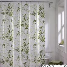 Custom Printing PEVA fabric nice design shower curtain