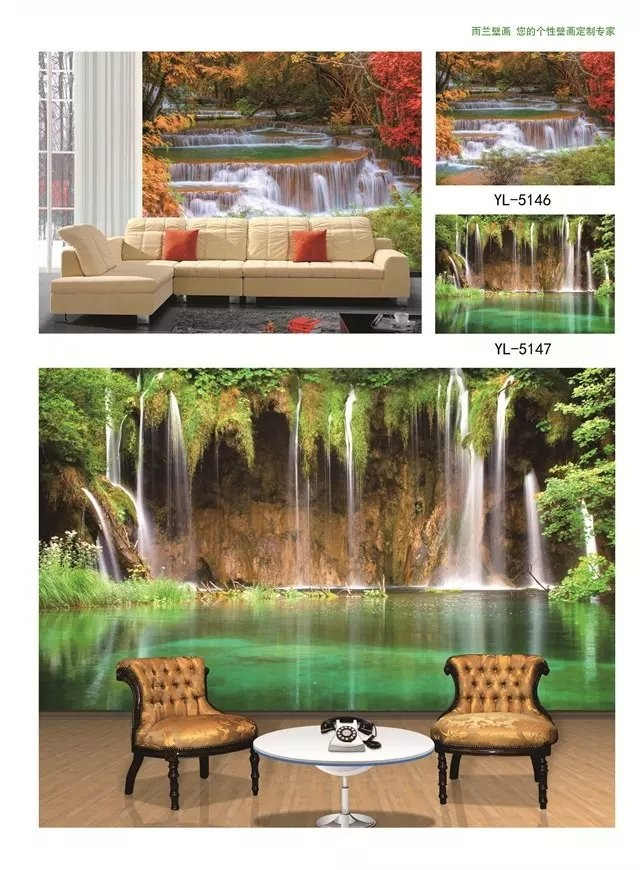 3D mural wallpaper room tv background waterproof wall coating wall paper 3d wall paper home decoration
