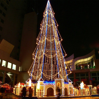 outdoor giant led christmas tree outdoor lighted christmas cone tree giant led christmas tree