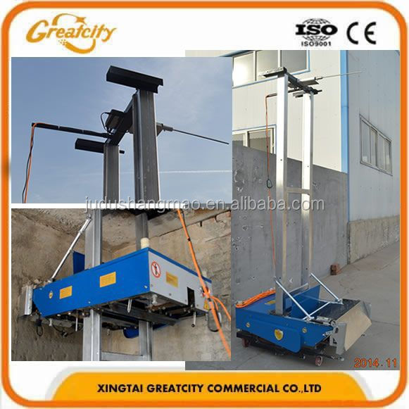 Automatic Cement Plastering MachineAutomatic Wall