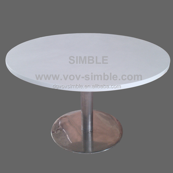 Customized Big Round Artificial Stone Dining Table Quartz Stone Table Tops Buy Artificial Stone Dining Table Quartz Stone Table Tops Composite
