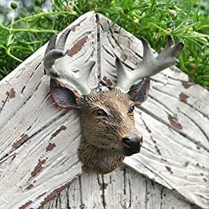Miniature Fairy Garden Trophy Deer Head