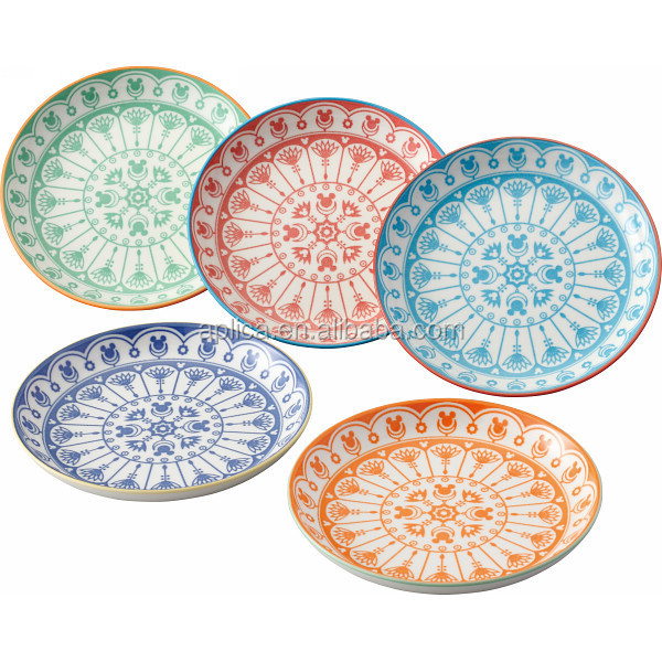 MADE IN JAPAN PORCELAIN CERAMIC DESSERT PLATES