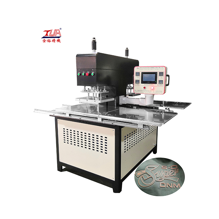 Automatic clothes pattern clothes logo making pressing machine