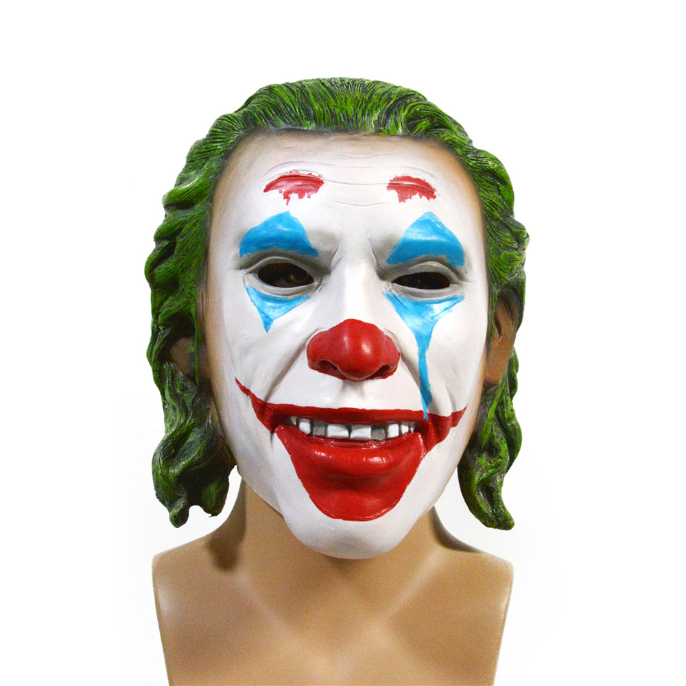 2019 Halloween Hot grappig Eng Latex clown JOKER MASKER voor party