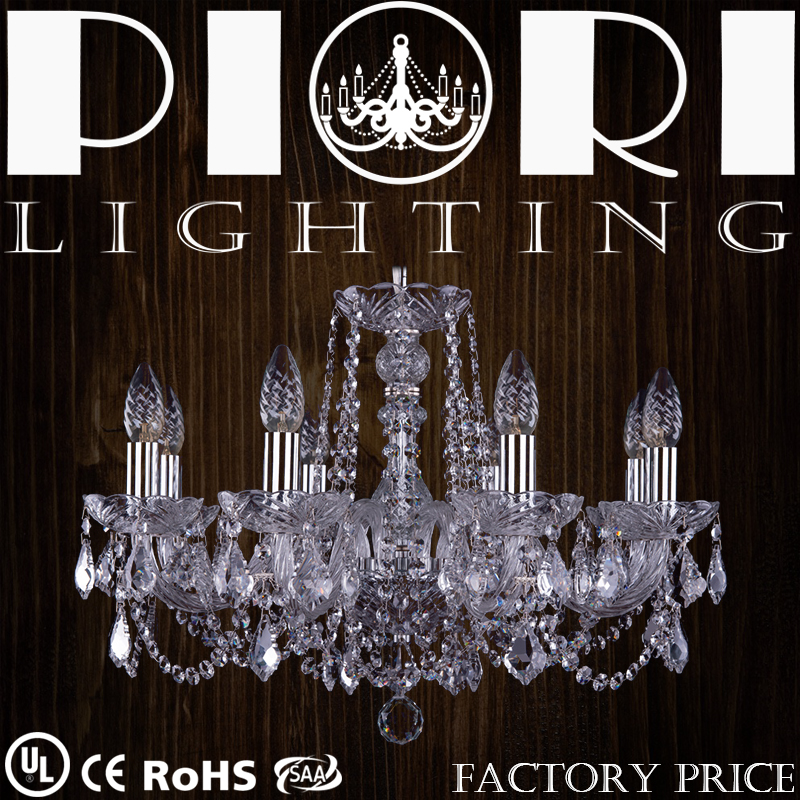 Factory Supplier Delicate UL Certification Chrome European Chandeliers