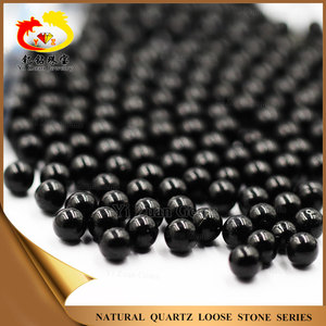Yizuan factory price Black Onyx Agate loose beads stones for sale