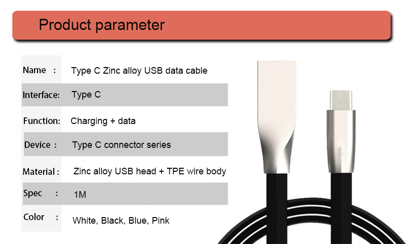 Hengye flexible usb cable TPE usb cable charging cable for speaker
