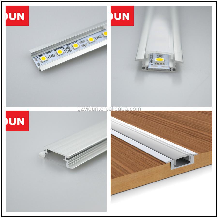 hei e gef hrte streifenbeleuchtung decke schrank led streifen profil led aluminium profil. Black Bedroom Furniture Sets. Home Design Ideas