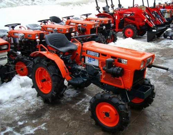 Kubota Japan Mini Tractor B7001d Used Tractor,With Rotary Tiller ...