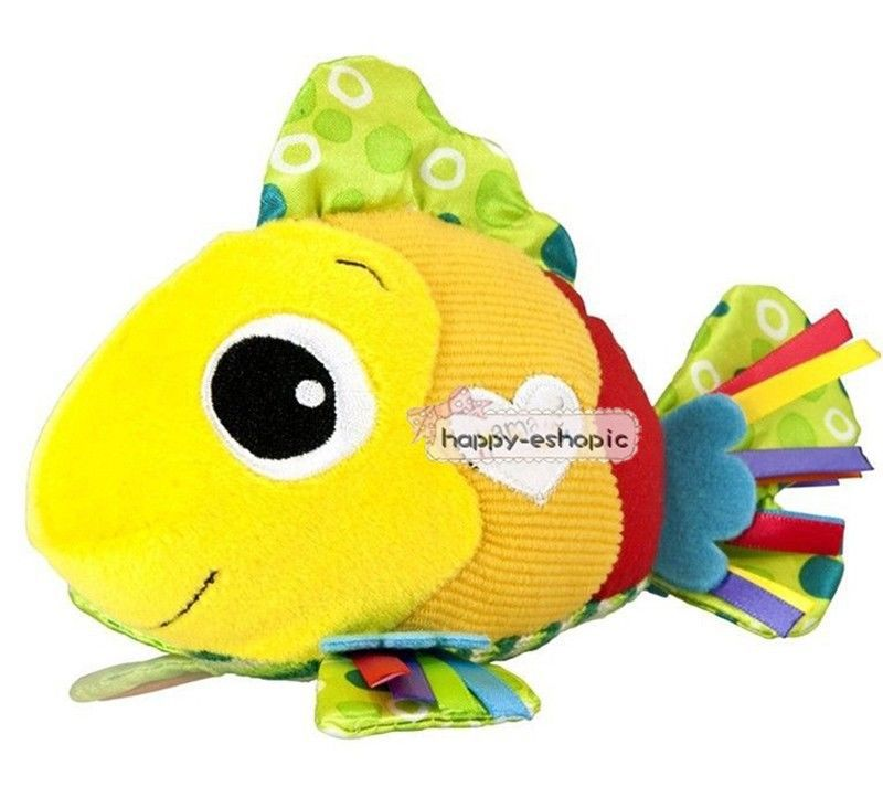 Baby mobiles feel me fish animal toy baby rattle toys kid Hand grasp bell bed soft Plush Toys babies mobile toy  brinquedos gift