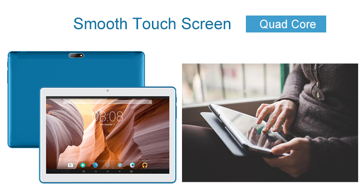 cheap oem pc 10 inch camera 2.0MP / 5.0MP 1280*800 android 8.1 tablet 3g with dual sim card slots