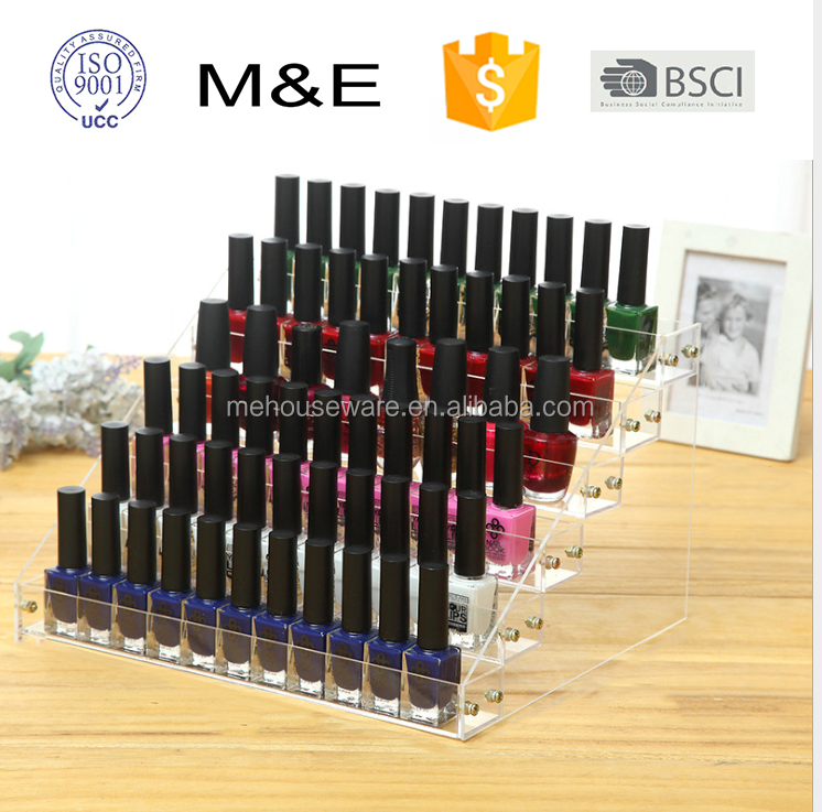 Acrylic Nail Polish <strong>Display</strong> Stand 6 tiers <strong>display</strong> rack (31*24.8*18.5cm)