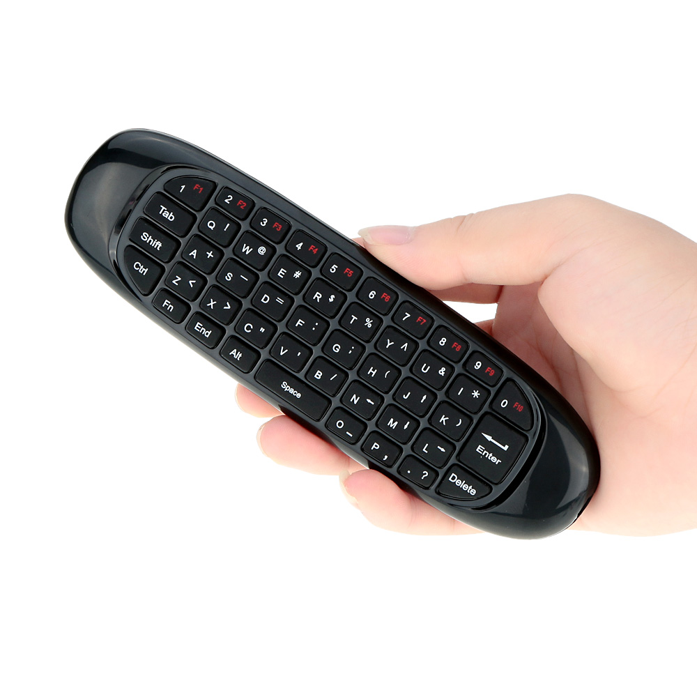 762dccd134f Buy Mini Portable 2.4G Wireless Keyboard Fly Air Mouse Remote Control with  Microphone USB Reciever for HTPC Android TV Box PC in Cheap Price on  m.alibaba. ...