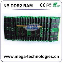Stock lot ETT original chips ddr2 2gb 800mhz ram mobile phones for laptop