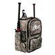 Custom Youth Wheeled Sport Equipment Softball Baseball Bat Bag Backpack