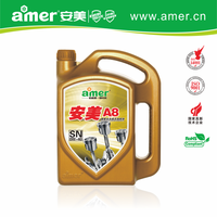 Super fully synthetic sports and racing cars gas oil engine 0w40