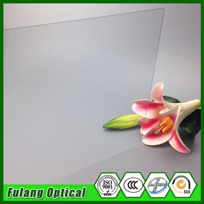 6Mm Anti-Scratch Polycarbonate Solid Sheet Solar Plastic Pc Solid Sheet For Skylight Sound Barrier