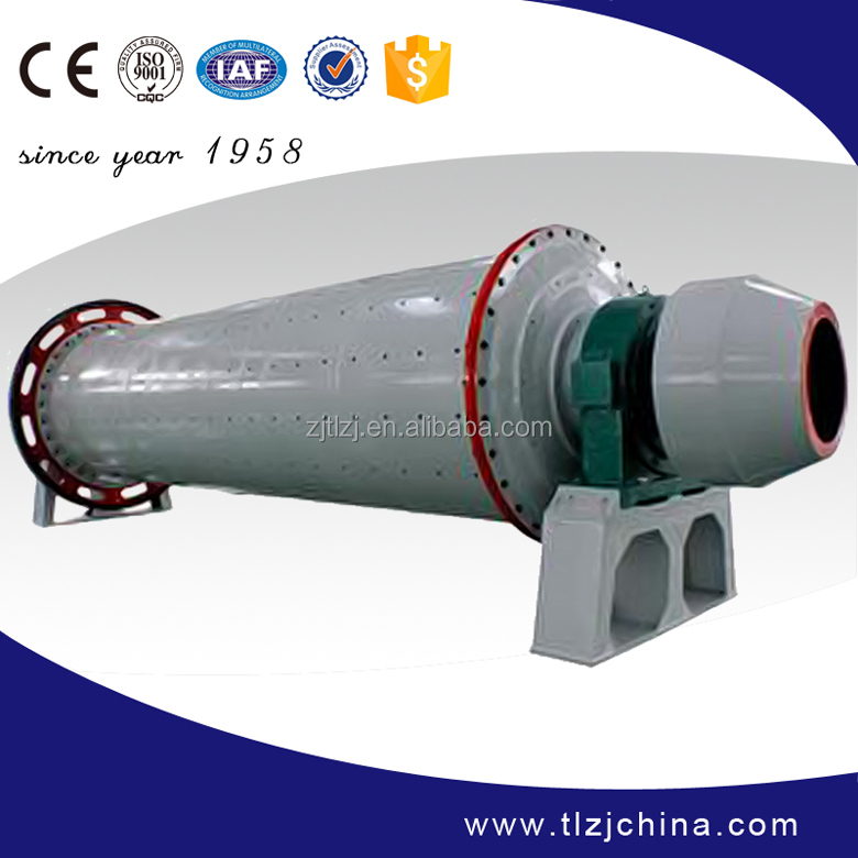 New high efficiency wet process ball mill, wet type grinding ball mill for sale
