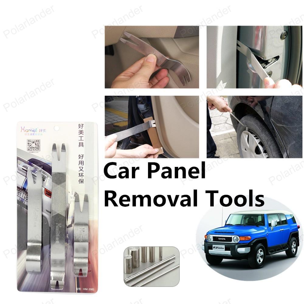 Новый 3 шт. комплект инструментов автомобиля средство для удаления панели бесплатная доставка продажа