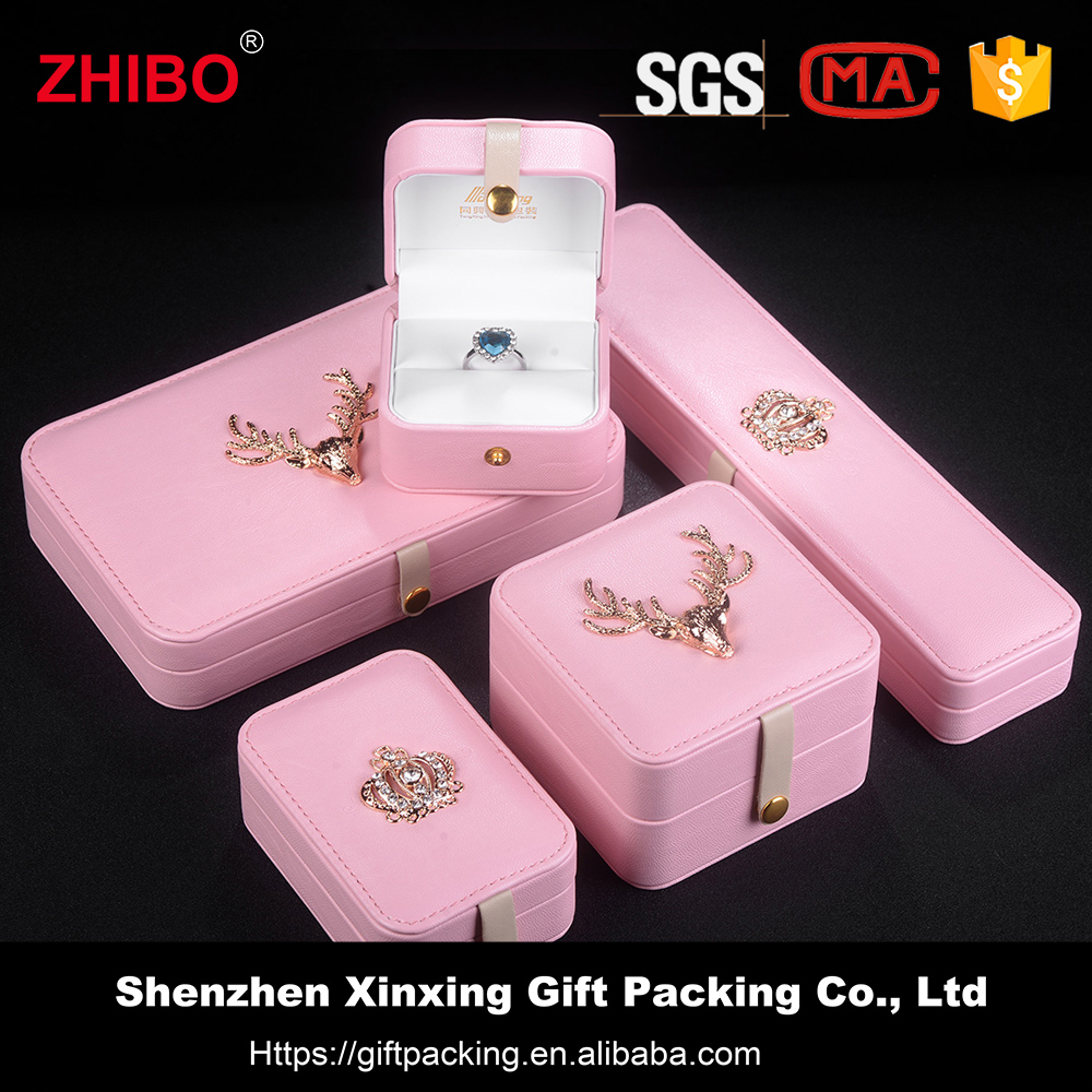 stylish pendant jewellery boxes wholesale In stock jewelry box