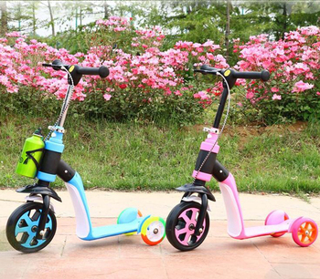 2 Edad Plegable Bebé Niños Años Vehículo De Ruedas 2017 Caliente Aire En 8 Flash Paseo Bicicleta Coche Juguetes Al Scooter 3 Cochecito mwvN8Oyn0