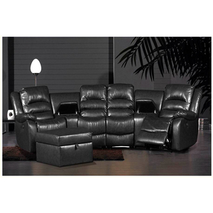 China furniture home leather design classic modern sectional sofa