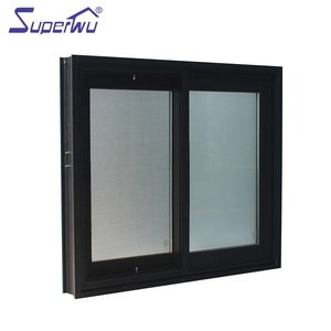 2019 Made in china Energy saving double glazed sliding aluminium window with AS2047 NFRC DADE Approved