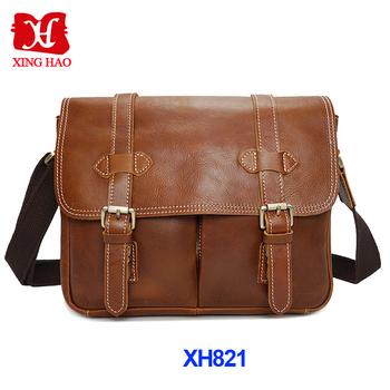 Personalized Vintage Leather Camera Bag Shoulder
