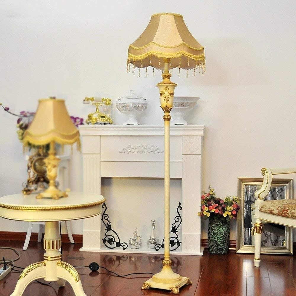 SED Floor Lamp-Led Creative Modern Simple Floor Lamp Living Room Floor Lamp Bedroom Study Lamp European Retro Luxury Floor Lamp Eye Protection Vertical Table Lamp