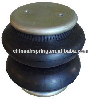 Double Convoluted Rubber Air Suspension Spring For Trucks ...