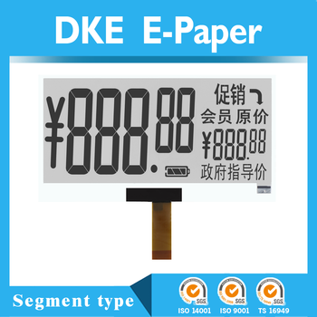 2 inch 3 inch e-paper display for price label with esl E-Ink e-paper display technology