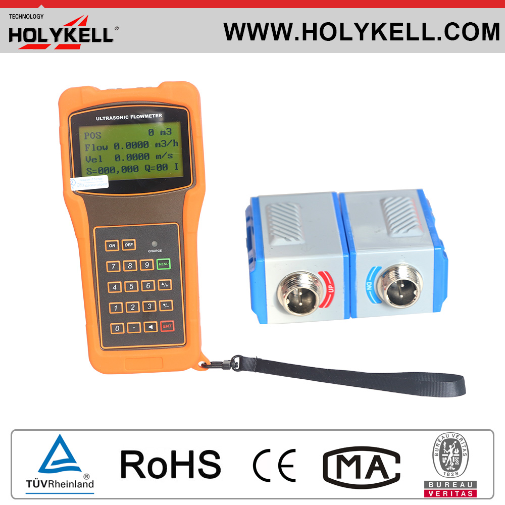 Holykell Chinese Cheap Price Clamp on ultrasonic water flow sensor